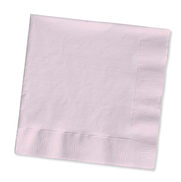 Classic Pink Beverage Napkins