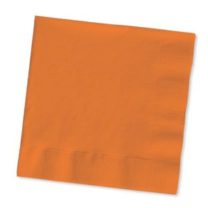 Sunkissed Orange Luncheon Napkins