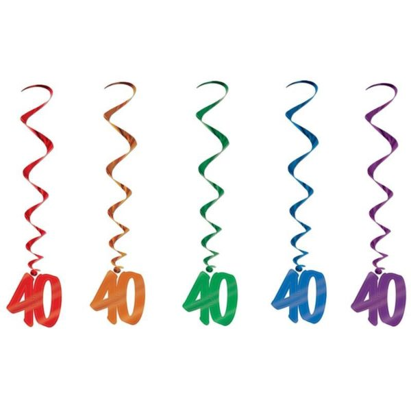 Number 40 Whirls