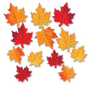 Deluxe Fabric Autumn Leaves