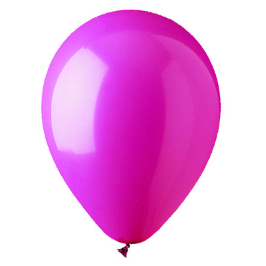 "12"" Standard Rose Latex Balloons"