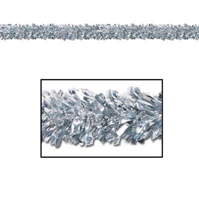 Metallic Garland Silver
