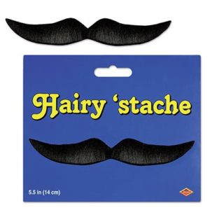 Hairy Stache Black