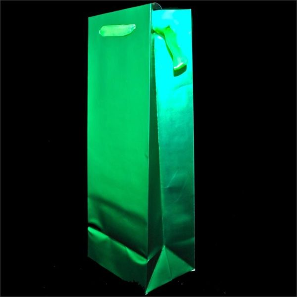 Emerald Green Metallic Matte Bag