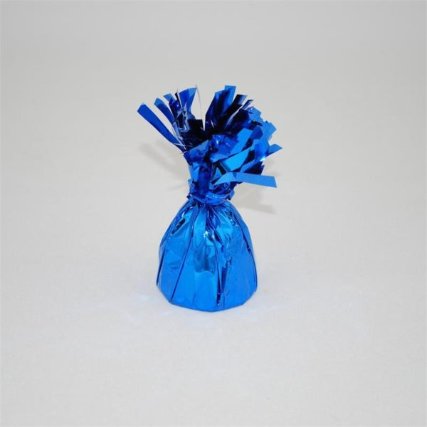 Blue Foil Fringed Weight
