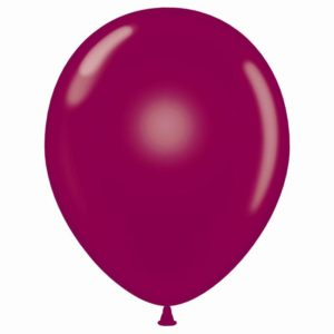 "11"" Crystal Burgundy Latex Balloons"