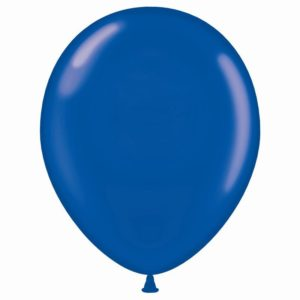 "17"" Crystal Blue Balloons"
