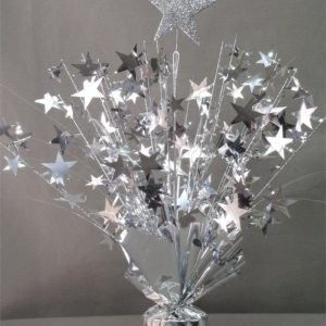 Silver Star Table Centerpiece