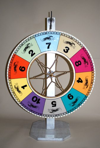 "30"" Race Track Wheel 1-10 Numbers -Rental-"