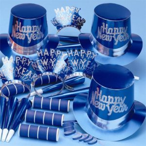 Sapphire Blue New Years Party Kit
