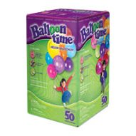 Balloon Time 50 - Disposable Helium Tank