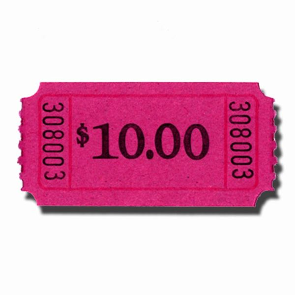 $10.00 Roll Tickets