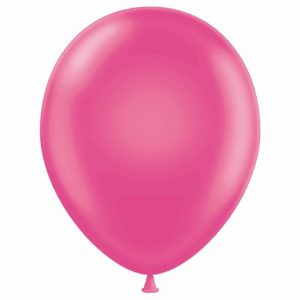 "11"" Hot Pink Latex Balloons"