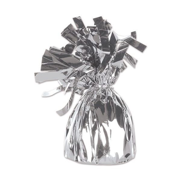 Silver Foil Fringed Weight